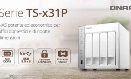 QNAP presenta i nuovi NAS TS-531X e TS-x31P con processore Annapurna Labs