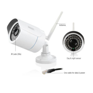 EM6350 Telecamera IP Full HD da esterno CamLine Pro 1080p