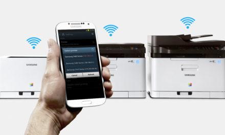 Si stampa con un tocco con le stampanti Samsung NFC