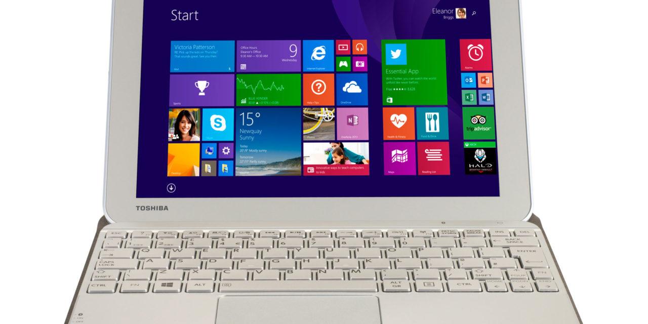 Toshiba Encore – Un tablet ideato per sfruttare a fondo l'esperienza di Windows 8.1 attraverso lavoro e gioco