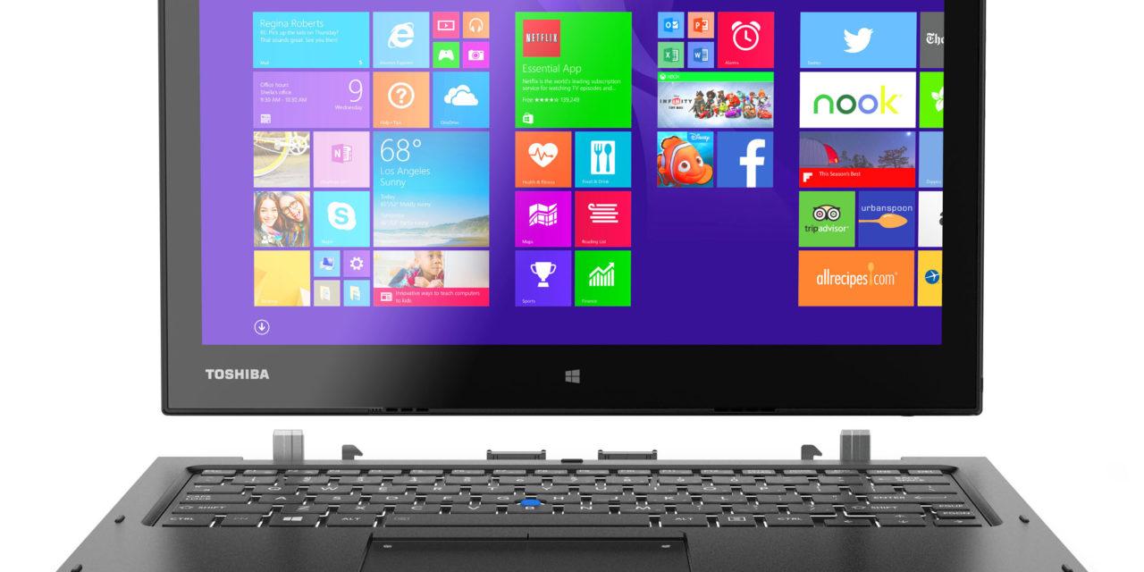 """Toshiba Portégé Z20t: premium 2-in-1 notebook e tablet da 12,5"""" per il business"""