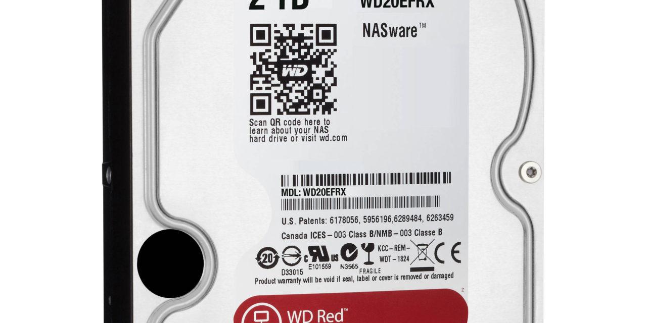 Tutti i NAS della serie TeraStation 5000 montano di serie gli hard disk WD Red™