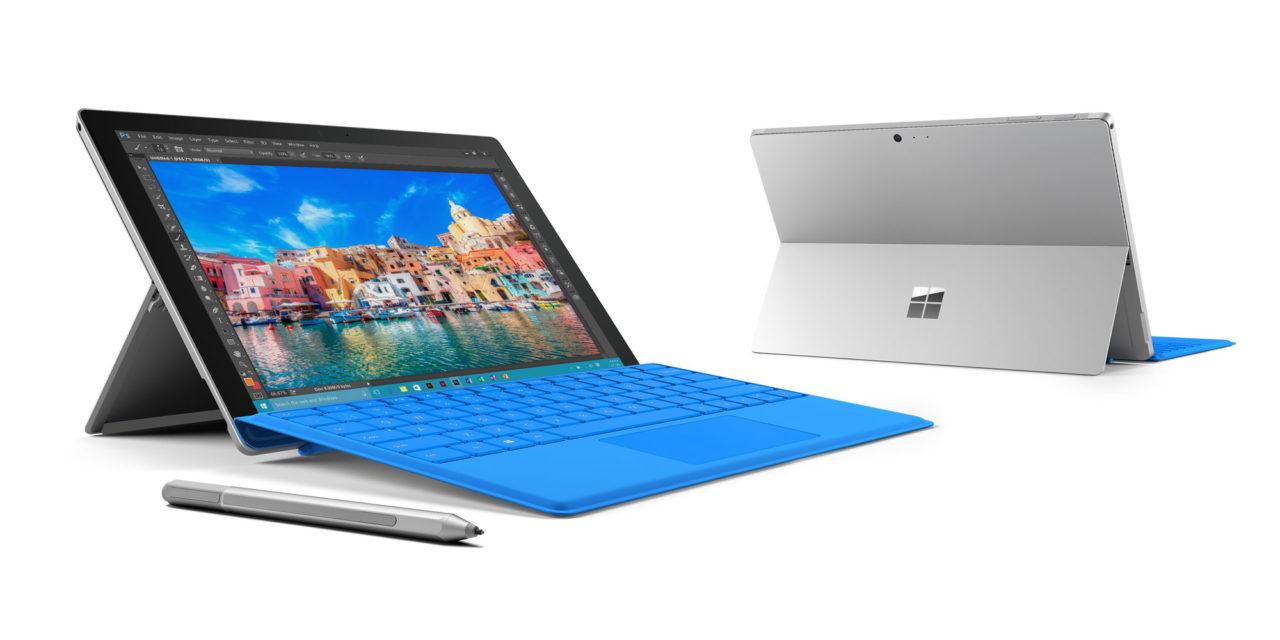 Microsoft presenta il nuovo Surface Pro 4