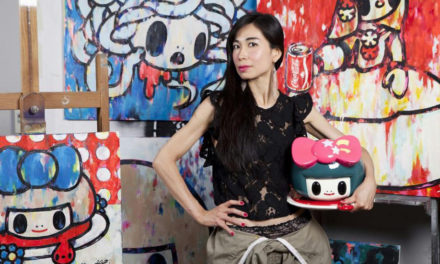 Tomoko Nagao: l'arte nella mia smart city è street & pop!