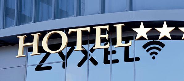 Zyxel – Dietro a un hotel che funziona c'è un wi-fi che lavora per te.