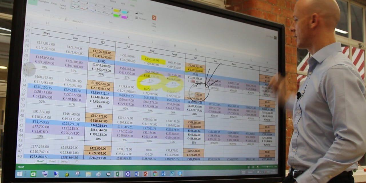 Facile e grande: la whiteboard iiyama migliora la condivisione dei contenuti