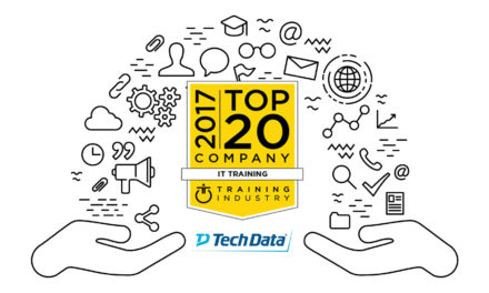 "Tech Data è entrata a far parte della lista ""Top 20 IT Training Companies 2017″"