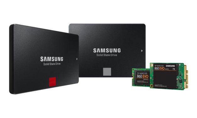 Nuovi SSD portatili 860 PRO e 860 EVO con tecnologia V-NAND