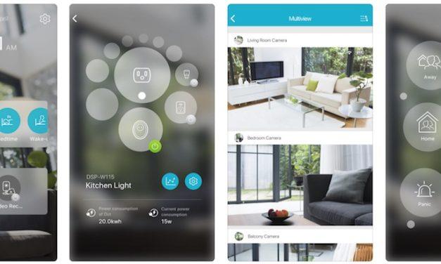 Vivere la casa con un «tap»: ecco la nuova app mydlink