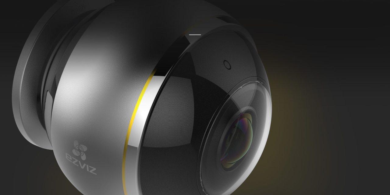 Ezviz Mini Pano: la prima telecamera da  interno con visione panoramica a 360°