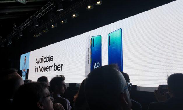 Samsung presenta il primo smartphone con 4 fotocamere: il Samsung Galaxy A9
