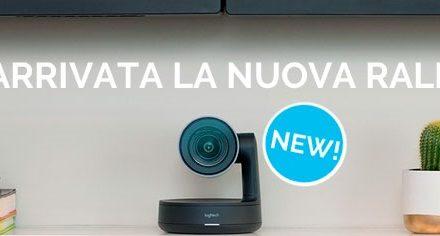 Rally, la nuova telecamera Logitech ideale per tutte le sale riunioni