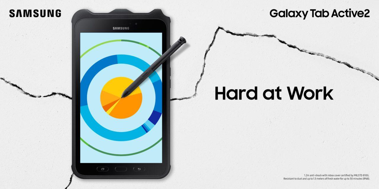 Samsung Galaxy Tab Active 2: Il dispositivo rugged pensato per il business